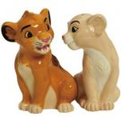 The Lion King - Simba and Nala Salt & Pepper Shakers Set