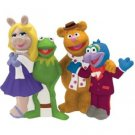 The Muppets Gang Kermit, Miss Piggy, Fozzie and Gonzo Salt and Pepper