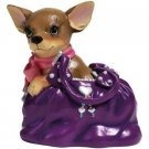 Aye Chihuahua Dog Handbag Pup Figurine Home Decor