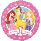 "Disney Princess Ariel, Belle & Rapunzel 1st Birthday 18"" Foil Balloon Party"
