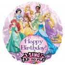 "Disney Happy Birthday Princess Sing A Tune 28"" Foil Balloon Party Supply"