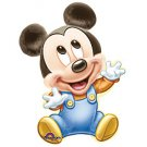 """Disney Mickey Mouse in Blue Overall 33"""" Foil Balloon Party Supply"""