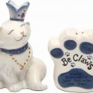 Be Claw - Queen Cat wear Crown You Are Perfect Just The Way You Are Salt Pepper