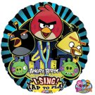 "Angry Birds Sing A Tune 28"" Foil Balloon Party Supply"