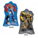 "Bumblebee & Optimus Prime Transformers 30"" Full Body Shape Balloon Party Supply"