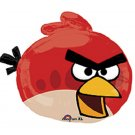 "23"" Red Angry Bird Foil Balloon Party Supply"