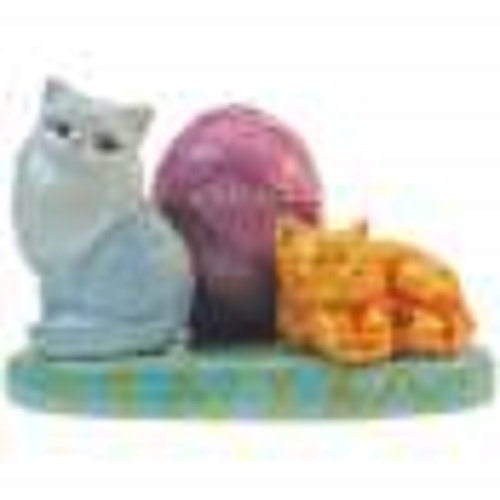 MWAH Cat Couple Salt and Pepper and Toothpick Holder Set