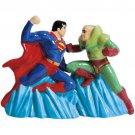 DC Comics Superman vs. Lex Luther Magnetic Salt and Pepper Shaker Set