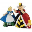 Alice In Wonderland - Alice and Queen Of Hearts Salt and Pepper