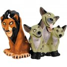 The Lion King - Scar and Hyenas Salt & Pepper Shakers Set