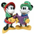 Mickey InspEARations Christmas Mickey & Minnie Mouse Caroling Salt and Pepper