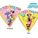 "Disney Minnie Mouse 1st Happy Birthday 17"" Diamond Balloon Party Supply"