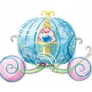 "Disney Princess Cinderella in Carriage 33"" Foil Balloon Party Supply"