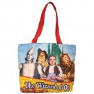 The Wizard Of Oz Dorothy, Tin Man, Scare Crow & Lion Tote Bag NWT