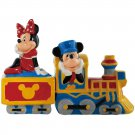 Mickey InspEARations Mickey Mouse & Minnie Mouse Choo Choo Train Salt and Pepper