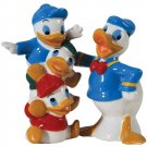 Disney Donald Duck and Huey Dewey and Louie Salt and Pepper Shaker