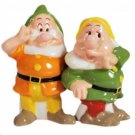 Life According to Disney Princess Snow White- Doc & Sneezy Dwarf Salt & Pepper
