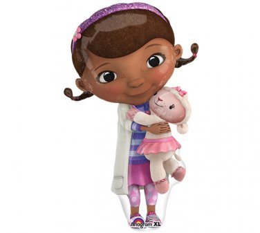 "Disney Doc McStuffins hug Lambie Sheep Full Body 35"" Balloon Party Supply"