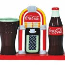 Coca Cola and Jukebox Salt & Peppers/Toothpick Holder
