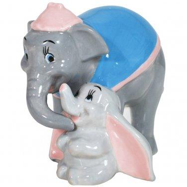 "Disney Dumbo Elephant & His Mother ""Motherly Love"" Salt & Pepper Kitchen Ware"