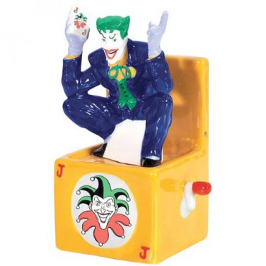 DC Comics The Joker in a Box Salt and Pepper Kitchen Ware