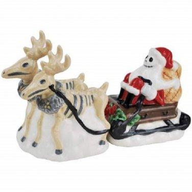 Disney The Nightmare Before Christmas Jack The Santa & Reindeer Salt Pepper