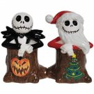 Disney Nightmare Before Christmas Jack Skellingtons Salt and Pepper Shakers