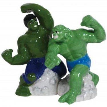 Marvell Hulk Vs. Abomination Super Hero Salt and Pepper Shaker Kitchenware