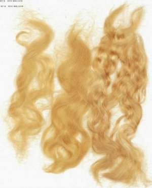 Brt. Strawberry Wig making dye pkt,will Dye 4 oz mohair