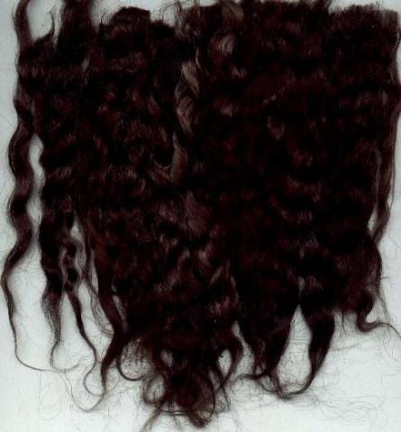 Dark Ntr Brown Wig making dye pkt,will Dye 4 oz mohair
