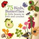 Hot Sale Ebook Crochet 75 Birds Butterflies PDF Pattern