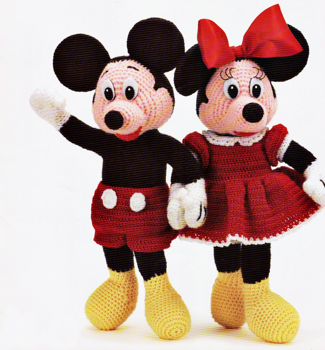 Hot Sale Ebook Crochet Mickey And Minnie MOUSE PDF Pattern