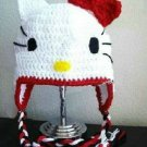 crochet hello kitty hat pattern