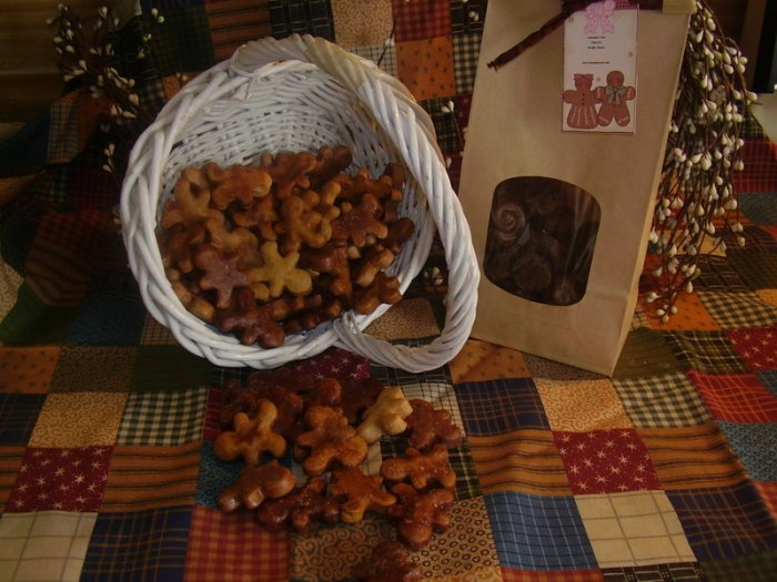 50 Primitive Gingerbread Men for Fixins or Bowl Fillers