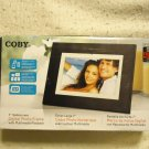 Coby gidital phot frame with multimedia playback