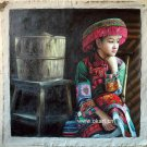 "Oil painting(Chinese people-001,24""*36"")"