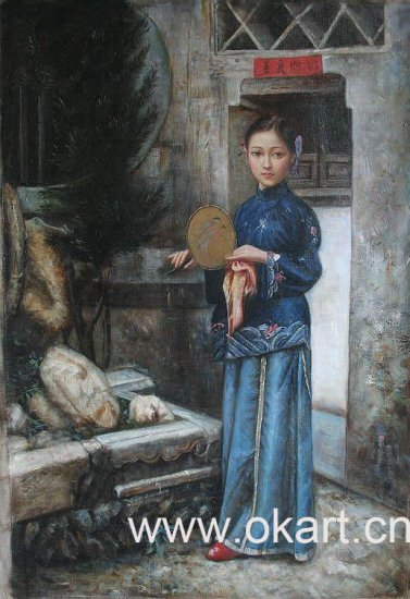 "Oil painting(Chinese people-002,24""*36"")"