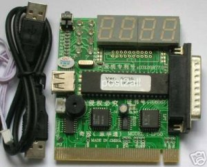 PC & Laptop PCI Analyzer Diagnostic POST CARD / USB