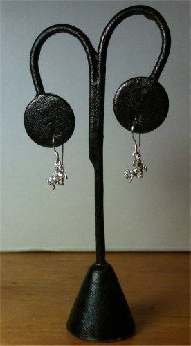 HANDMADE Unicorn Dangle PETITE Earrings SOLID 925 Sterling Silver