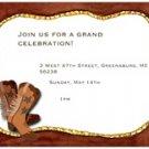Yeeha! Invitation 10