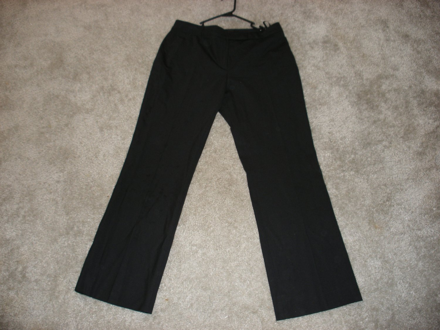 LOUIS VUITTON BLACK PANTS SIZE 42