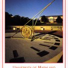 UMD Sundial on the Mall postcard