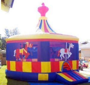 Inflatable Carousel Bouncer-J2