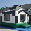 Inflatable Killer Whale Bouncer-J6