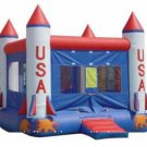Inflatable USA Rocket Bouncer-J19
