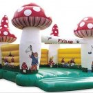 Inflatable Mushroom Bouncer-J27