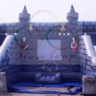Inflatable Castle Bouncer with 2 Slides-J32