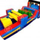 Inflatable Double Obstacle Bouncer-J37