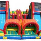 Inflatable Double Obstacle Bouncer-J39
