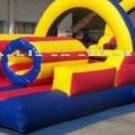 Inflatable Double Obstacle Bouncer-J44